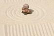 galets sur sable