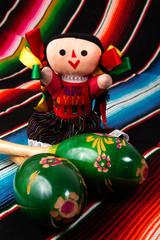 Mexican Doll with Maracas
