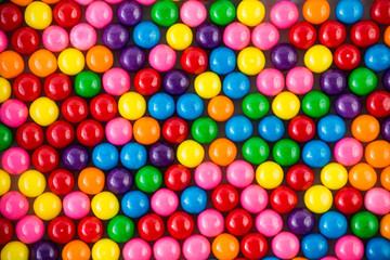 Colorful gumballs