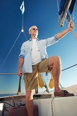 sailing man captain