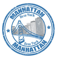 Manhattan stamp