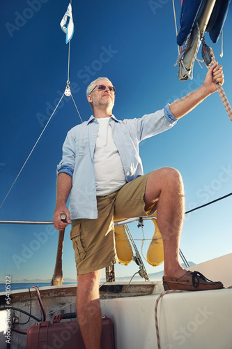 sailing man captain