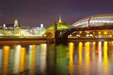 View of Moscow. Bogdan Khmelnitsky Bridge
