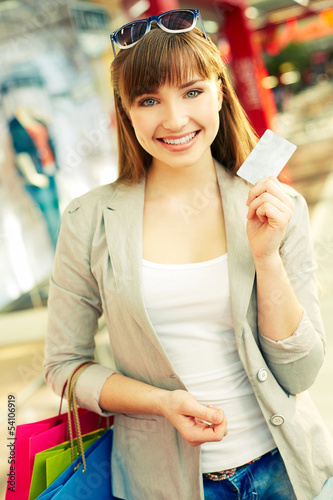 Cashless shopping