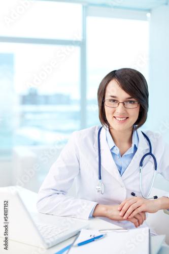 Modern medical worker