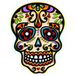 Sugar Skull, Mexiko, Totenkopf, Ornament