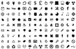 Set of 126 web design icons
