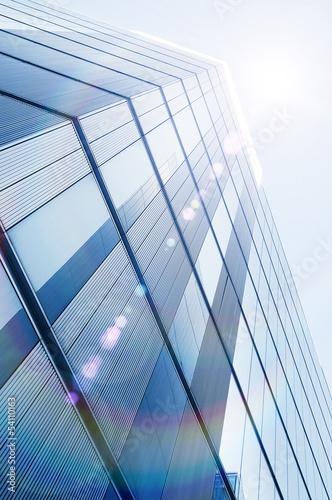 sun glare skyscraper