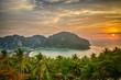 Tropical landscape. Phi-phi island, Thailand.