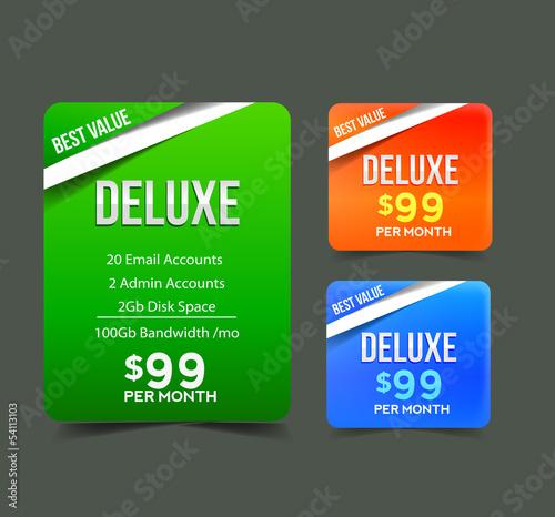 Modern Price Menu Design Template