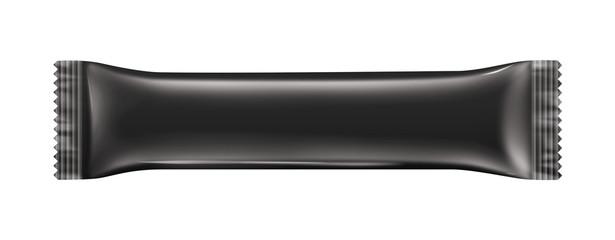 Chocolate bar package black