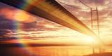 golden light bridge