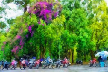 Rent mopeds