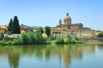 San Frediano in Cestello church, Florence, Italy.