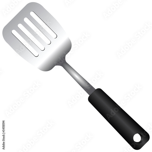 Steel Serving Spatula