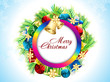 abstract christmas background with girfts