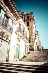 Old Valletta, capital city of Malta