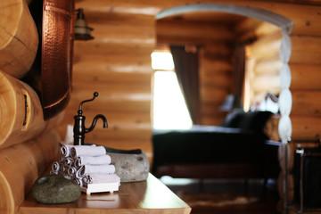 Badezimmer aus Holz