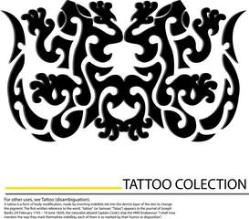 gecko tattoo design,vector