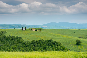Chapel in  Val D'orcia, Tuscany, Italy