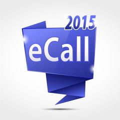 bulle origami cs5 : eCall 2015