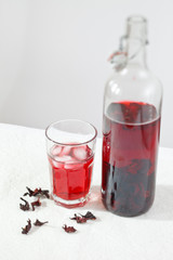 summer hibiscus tea