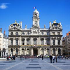 The famous Terreaux square