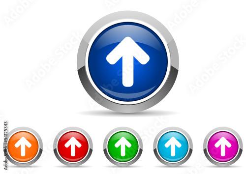 upload icon set