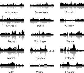 vector_city panorama