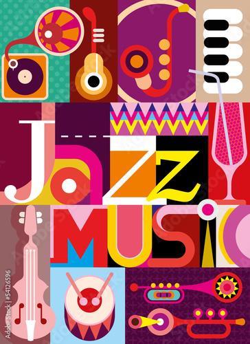 Fototapeten,musik,musikalisch,jazz,vektor