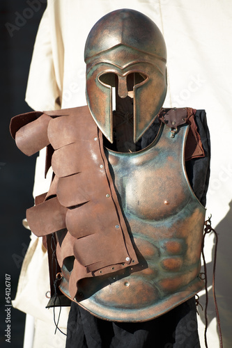 Spartan soldier uniform