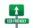 Eco-Friendly Sign illustration design