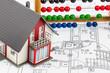 Wohnhaus, Abakus, Bauplan