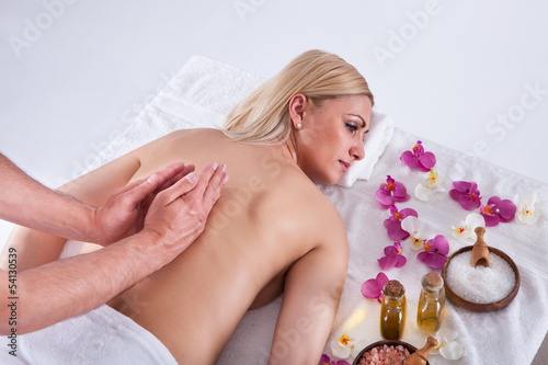 Young Woman Getting Message