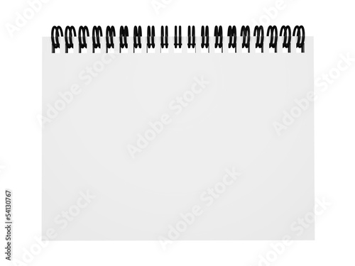 Blank Empty Notepad