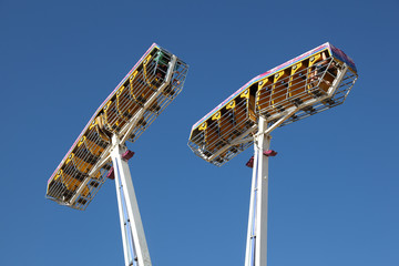Fairground ride at the summer fair