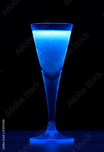 Leinwandbild Motiv fluorescent drink