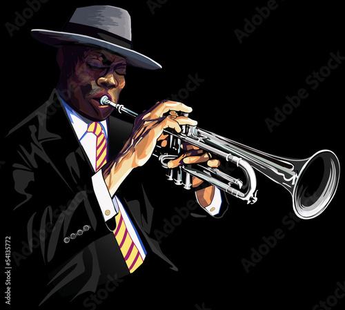 Trumpet player - 54135772