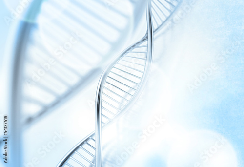 a dna in medical  background