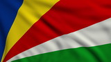 Flag of Seychelles looping