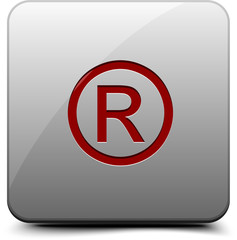 Registered Trademark Button