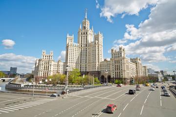 Apartment house at Kotelnicheskaya Embankment in Moscow