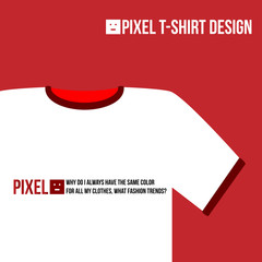 Pixel T-Shirt Design