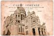 Carte postale ancienne, Montmartre - Paris