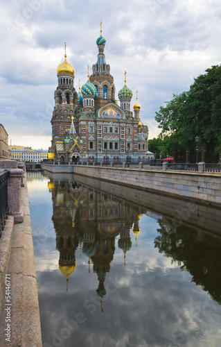 Church of the Savior on Spilled Blood. St.Petersburg, Russia. Ea
