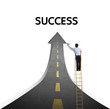 Drawing a paved road to Success