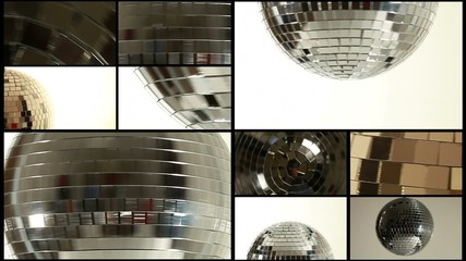 Mirror ball composition background
