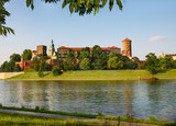 Wawel hill across the river