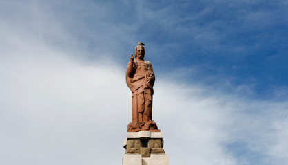 Statue of Jesus in Tarifa