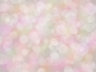 Pastel rainbow background with boke effect